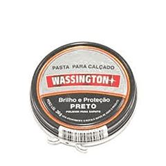 (I)PASTA P/CALCADO WASSINGTON 36G PRETA