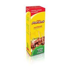 PALITO DE DENTE PARANA BAMBU C/100UN