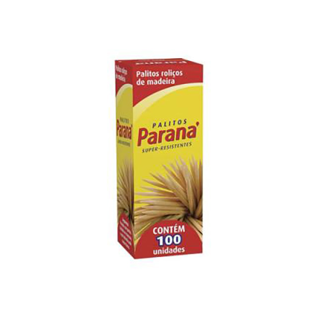 PALITO DE DENTE PARANA C/100UN