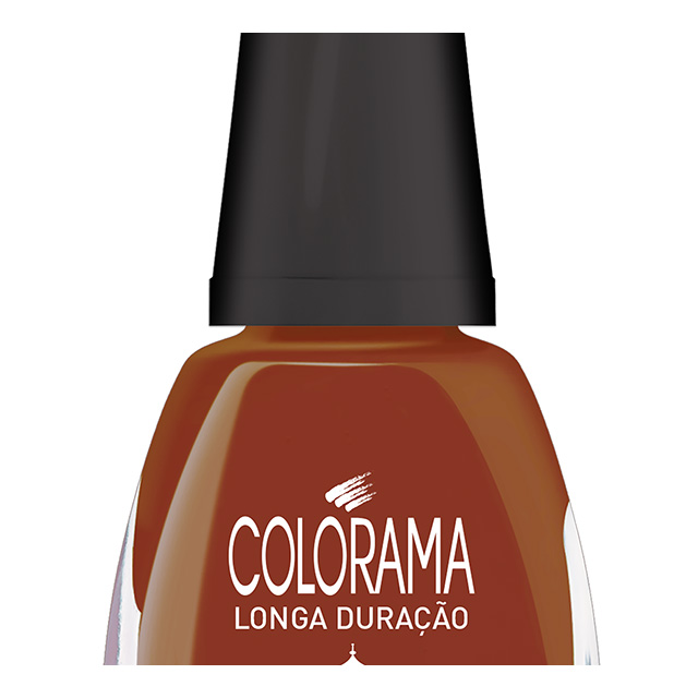 ESMALTE COLORAMA COR ORIEN TERRACOTA 8ML