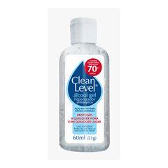 ALCOOL GEL CLEAN LEVEL 70% 60ML