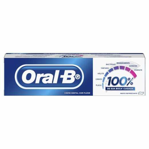 CREME DENTAL ORAL B 100% 70G
