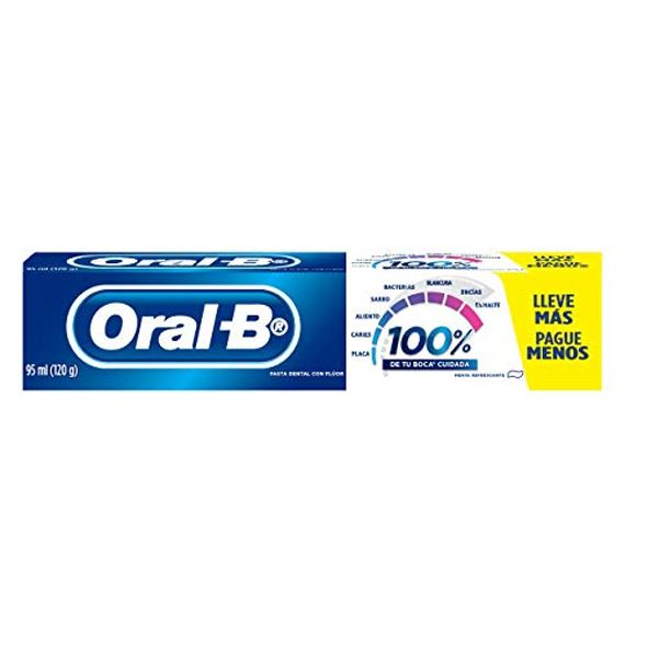 CREME DENTAL ORAL B 100% 120G