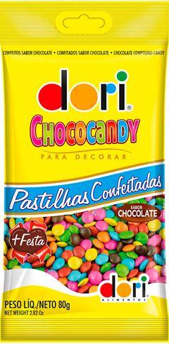CHOCOCANDY 80G COLORIDO CHOCOLATE