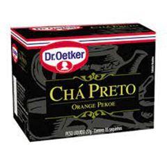 CHA DR.OETKER 27G PRETO C/15 SACHES