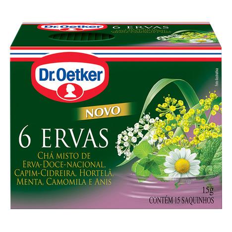 CHA DR.OETKER 15G 6 ERVAS C/15 SACHES