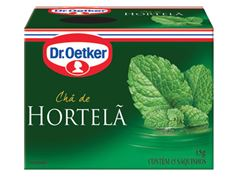 CHA DR.OETKER 15G HORTELA C/15 SACHES