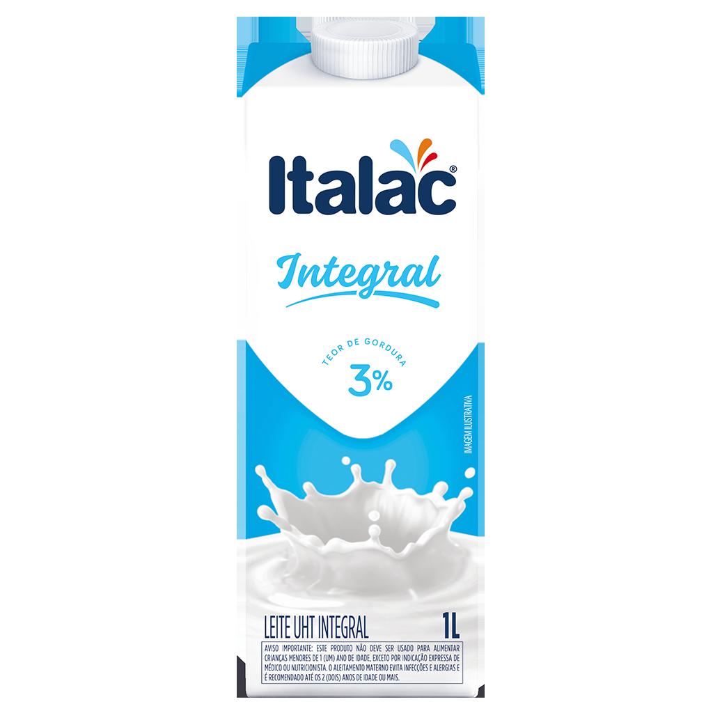 LEITE UHT ITALAC 1L INTEGRAL