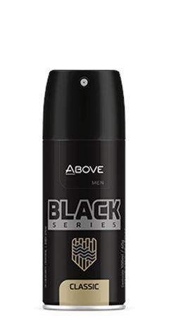 DESODORANTE ABOVE AERO 100ML MASC S.BLACK CLASSIC