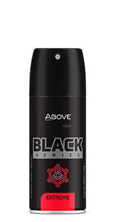 DESODORANTE ABOVE AERO 100ML MASC S.BLACK EXTREME