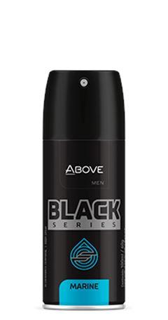 DESODORANTE ABOVE AERO 100ML MASC S.BLACK MARINE
