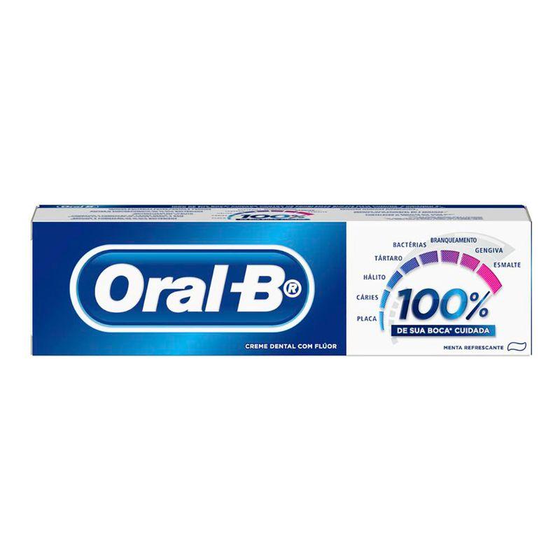 CREME DENTAL ORAL B 100% 3X50G