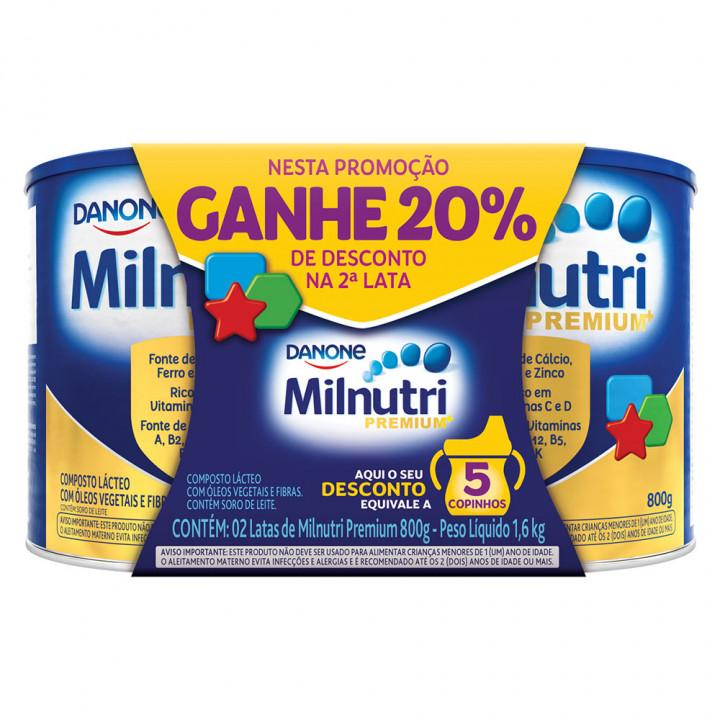 MILNUTRI 2X800G PACK 20% DESC