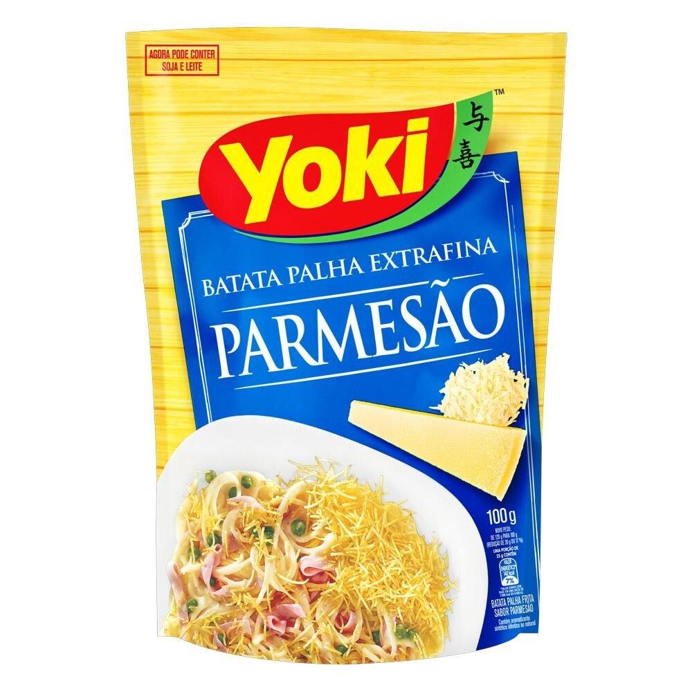 BATATA PALHA YOKI 100G EXT FINA PARMESAO
