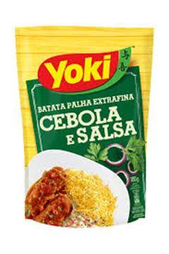 BATATA PALHA YOKI 100G CEBOLA E SALSA