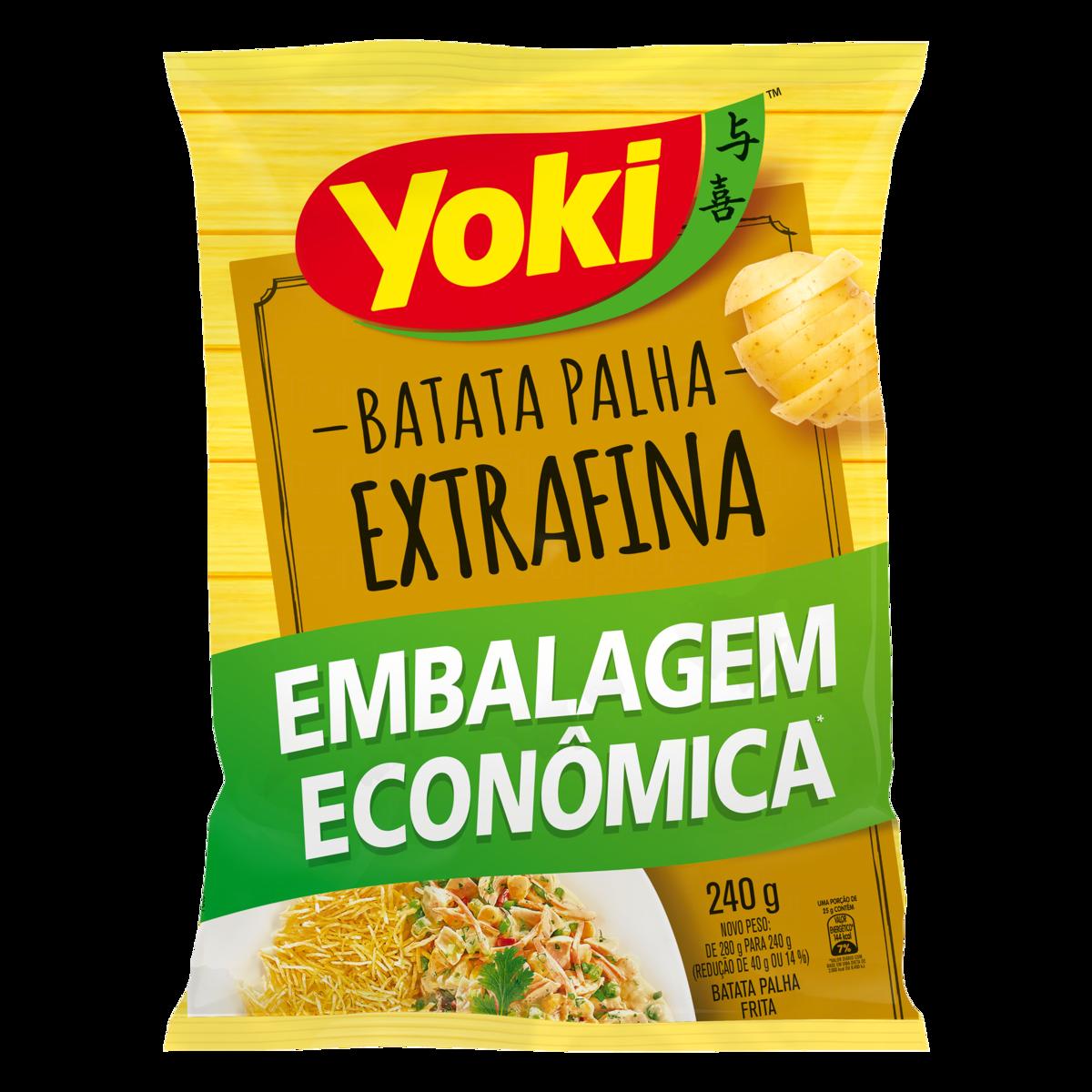 BATATA PALHA YOKI 240G EXTRAFINA