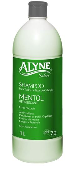 SHAMPOO ALYNE 1L MENTOL REFRESCANTE