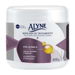 CREME DE TRATAMENTO ALYNE 400G POS QUIMICA