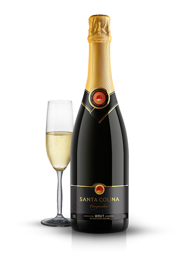 ESPUMANTE SANTA COLINA 750ML BRUT ROSE