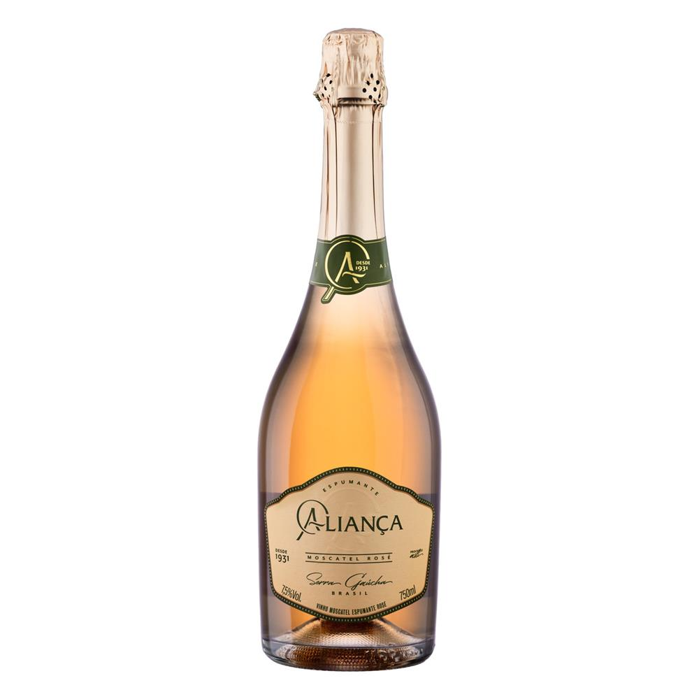 ESPUMANTE ALIANCA 750ML MOSCATEL ROSE
