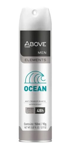 DESODORANTE ABOVE MAXX AERO 250ML MASC OCEAN