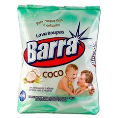 LAVA ROUPA EM PO BARRA 500G COCO