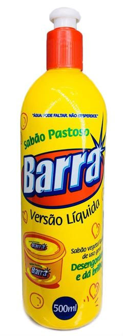 SABAO LIQUIDO BARRA 500ML