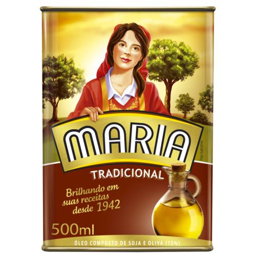 OLEO COMPOSTO MARIA 500ML LATA TRADICIONAL
