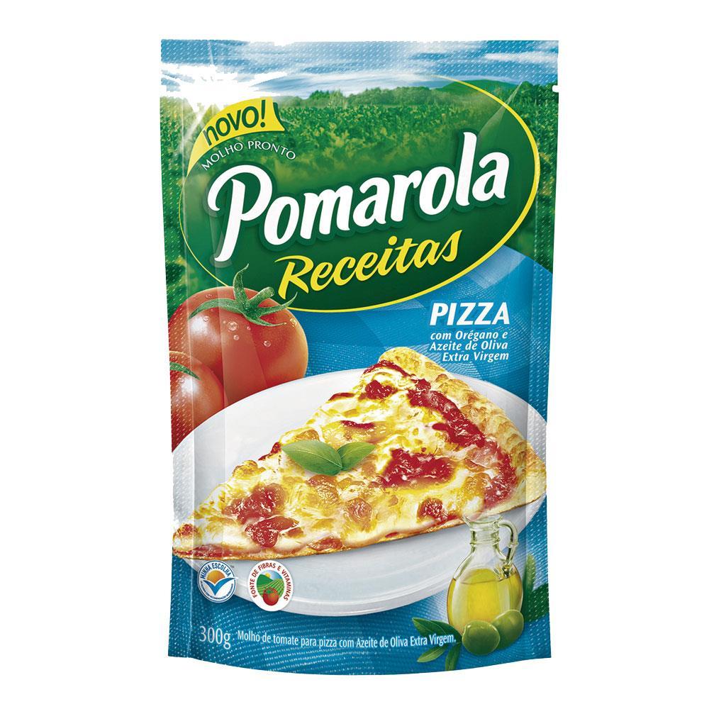 MOLHO TOMATE POMAROLA 300G SACHE PIZZA