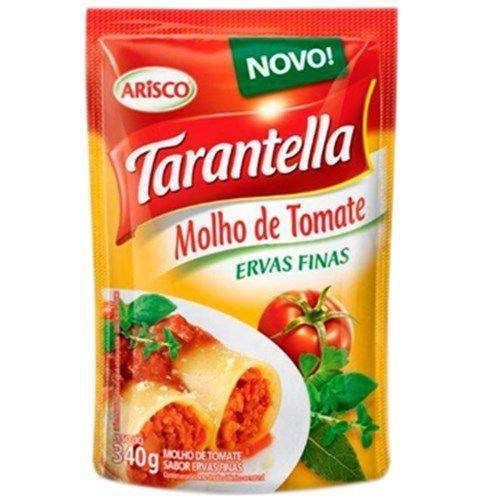 MOLHO TOMATE TARANTELLA 340G SACHE ERVAS FINAS