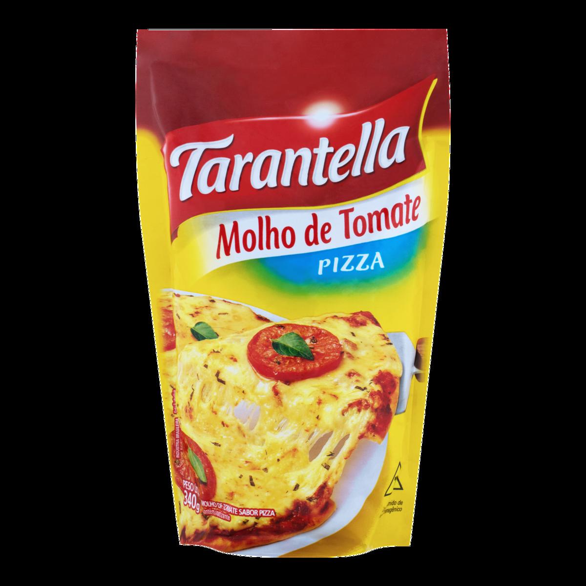 MOLHO TOMATE TARANTELLA 340G SACHE PIZZA