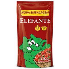 EXTRATO TOMATE ELEFANTE 1.02KG SACHE