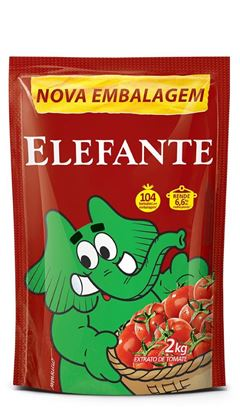 EXTRATO TOMATE ELEFANTE 2KG SACHE