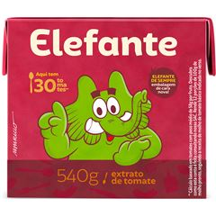 EXTRATO TOMATE ELEFANTE 540G TETRA PACK