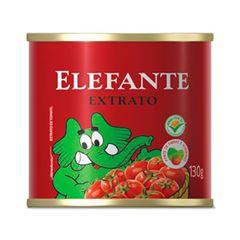 EXTRATO TOMATE ELEFANTE 130G LATA
