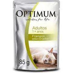 OPTMUM CAT POUCH ADULTO FRANGO 85G