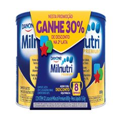 MILNUTRI 2X800G PACK 30% DESCONTO