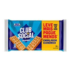 BISCOITO CLUB SOCIAL 12X24G ORIGINAL EMBALAGEM ECONOMICA