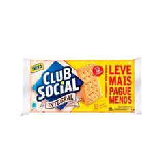BISCOITO CLUB SOCIAL 12X24G INTEGRAL EMBALAGEM ECONOMICA