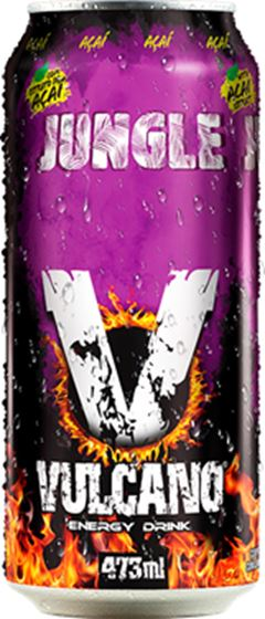 VULCANO ENERGY DRINK 473ML ACAI