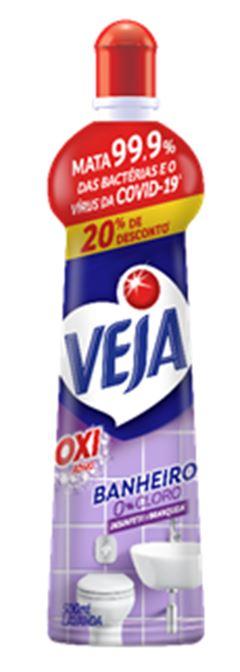 VEJA BANHEI OXI 500ML O%CLORO LAV 20%DES