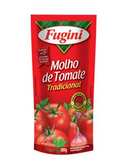 MOLHO TOMATE FUGINI 300G TRADIC SACHE