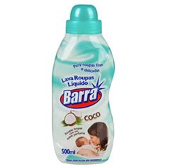 LAVA ROUPAS LIQUIDO BARRA COCO 500 ML