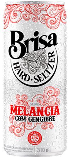 BRISA HARD 310ML MELANCIA C/ GENGIBRE