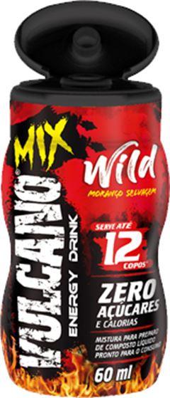 VULCANO ENERGY DRINK MIX  60ML WILD