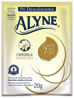 PO DESCOLORANTE ALYNE 20G CAMOMILA