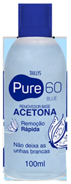 REMOVEDOR ACETONA PURE60 100ML PINK