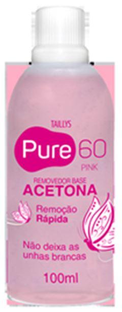 REMOVEDOR ACETONA PURE60 100ML BLUE