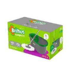 MOP BRILHUS COMPACTO C/BALDE 10L