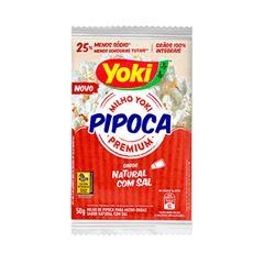PIPOCA MICRO YOKI 50G C/SAL